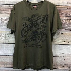 Harley Davidson Lg Graphic Tee Kansas City